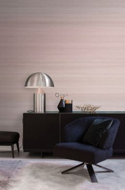 woonkamer fotobehang geweven structuur met kleurverloop oudroze 357229