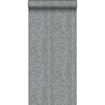 behang dierenhuid grijs