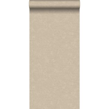 behang effen glanzend brons