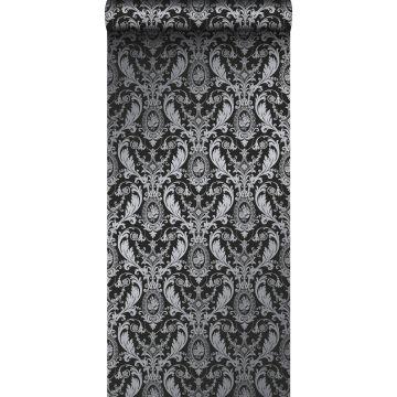 behang ornamenten zwart