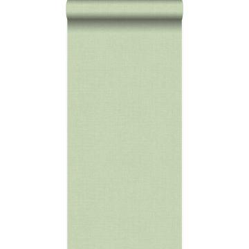behang fijne structuur groen