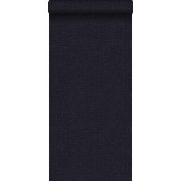 behang fijne structuur zwart en paars