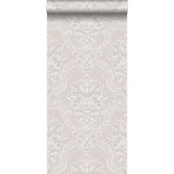behang ornamenten grijs