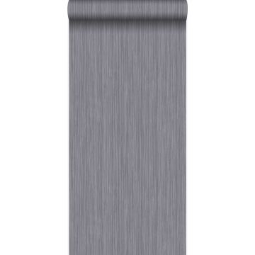 behang fijne strepen grijs