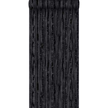 behang strepen zwart