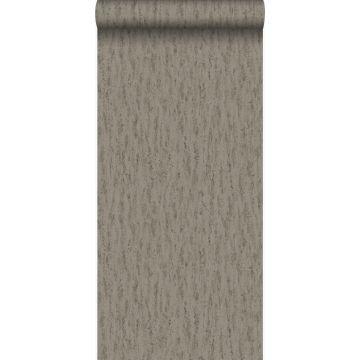 behang travertin natuursteen bruin