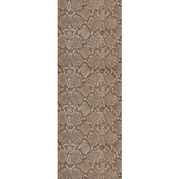 fotobehang slangenprint bruin