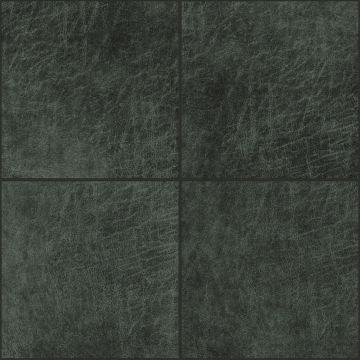 zelfklevende eco-leer tegels vierkant antraciet grijs