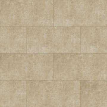zelfklevende eco-leer tegels rechthoek zand beige