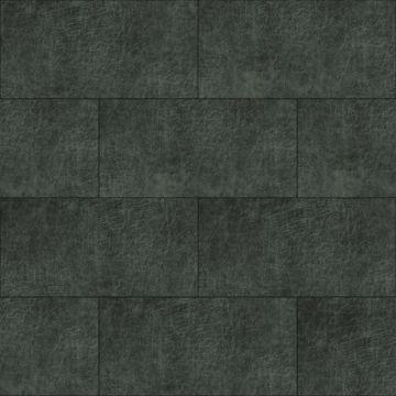 zelfklevende eco-leer tegels rechthoek antraciet grijs