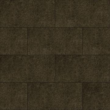 zelfklevende eco-leer tegels rechthoek donkerbruin